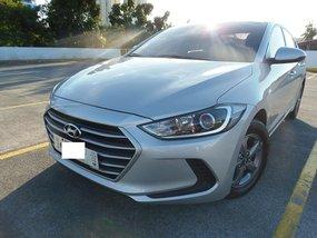 Silver 2018 Hyundai Elantra MT for sale in Quezon City