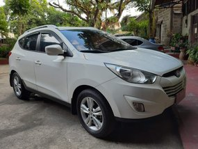 White 2012 Hyundai Tucson for sale in Aborlan