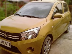 Selling Golden Suzuki Celerio Model 2015 in Balagtas
