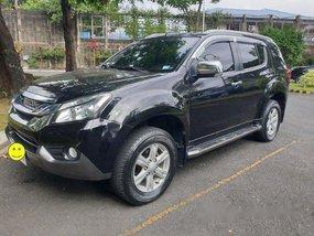 Sell Black 2015 Isuzu Mu-X at 59000 km