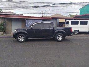 Black Nissan Navara 2010 Automatic Diesel for sale