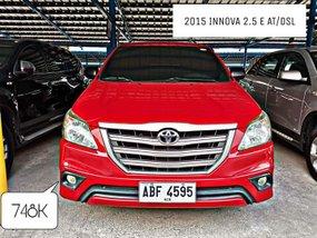 2015 Toyota Innova 2.5E Diesel