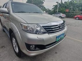 2012 Toyota Fortuner AT/Gas