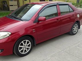 Red Toyota Vios 2006 m/t for sale in Manila