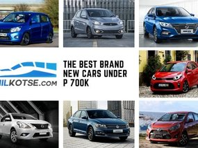 Value packed! The best brand new cars below P700k