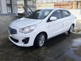 2017 Mitsubishi Mirage G4 GLX MT White