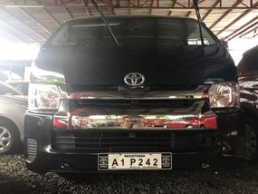 Selling Black Toyota Hiace 2018 in Quezon City