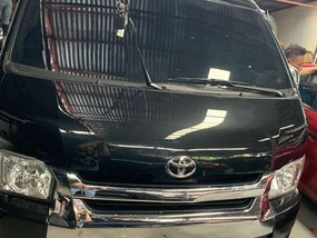 Sell Black 2018 Toyota Hiace in Quezon City