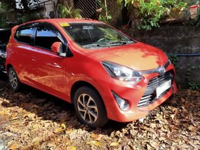 Sell Red 2019 Toyota Wigo in 897750