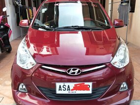 Selling Red Hyundai Eon Glx 2016 in Muntinlupa