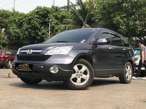 2008 Honda CRV 2.0 4x2 Automatic Gas (Sparkle Gray)