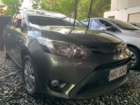 Green Toyota Vios 2017 for sale in Quezon City