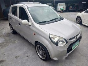 Silver Suzuki Alto 2014 for sale in Quezon City