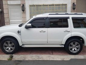 White Ford Everest 2010 Automatic Diesel for sale