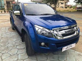 Blue Isuzu D-Max 2016 Manual Diesel for sale