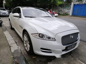 Selling White Jaguar Xj 2015 Automatic Gasoline
