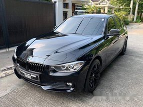 Selling Black Bmw 318D 2016 Automatic Diesel