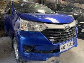 Blue Toyota Avanza 2017 for sale in Quezon City