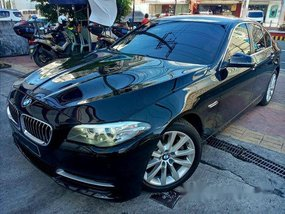 Black Bmw 520D 2016 Automatic Diesel for sale