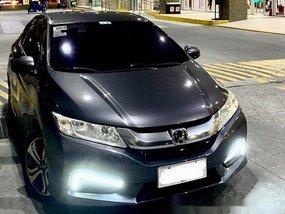 Sell Grey 2014 Honda City at 34000 km