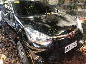 Black Toyota Wigo 2019 Manual Gasoline for sale