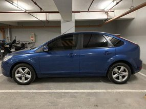 Blue Ford Focus 2011 Automatic Gasoline for sale