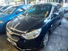 Black Chevrolet Sail 2017 Automatic Gasoline for sale