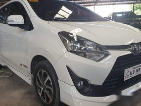 White Toyota Wigo 2019 Automatic Gasoline for sale