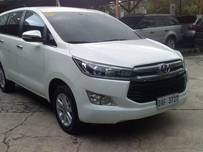 Sell White 2017 Toyota Innova Automatic Diesel at 24000 km