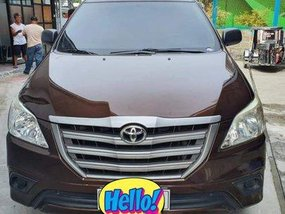Brown Toyota Innova 2015 Manual Diesel for sale