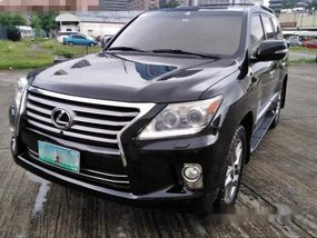 Sell Black 2012 Lexus Lx 570 Automatic Gasoline at 30000 km