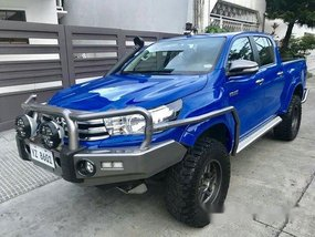 Sell Blue 2016 Toyota Hilux Automatic Diesel at 12000 km