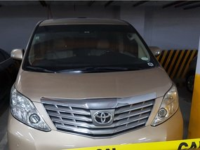 2011 Toyota Alphard V6 AT for sale in Quezon City