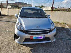 Silver Toyota Wigo 2017 Hatchback for sale