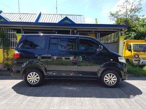 Sell Black 2015 Suzuki Apv Manual Gasoline at 70000 km