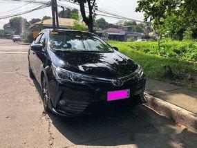 Sell Black 2017 Toyota Corolla Altis at 28000 km