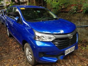 Sell Blue 2018 Toyota Avanza in Quezon City