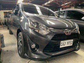 Selling Gray Toyota Wigo 2018 in Quezon City