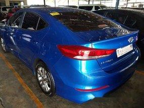 Selling Blue Hyundai Elantra 2018 in Marikina