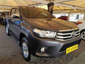 Sell Grey 2016 Toyota Hilux Manual Diesel