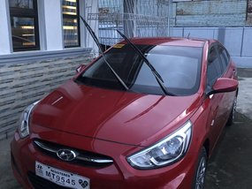 2018 Automatic Hyundai Accent GL Red AT