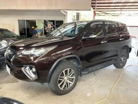 Brown Toyota Fortuner 2017 Automatic Diesel for sale
