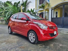 Selling Red Hyundai Eon 2017 Manual Gasoline