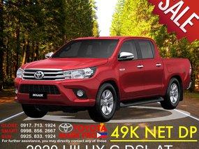 49K Net Down New Toyota Hilux