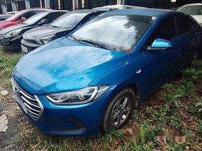 Sell Blue 2018 Hyundai Elantra Manual Gasoline at 13000 km