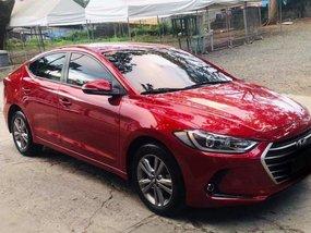 Red Hyundai Elantra 2018 for sale in Muntinlupa