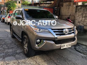 2018 Toyota FORTUNER 2.4G 4X2 DIESEL MANUAL