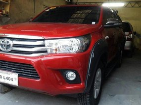 Red Toyota Hilux 2017 Automatic Diesel for sale