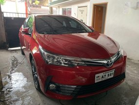 Selling Red Toyota Corolla Altis 2018 in Quezon City