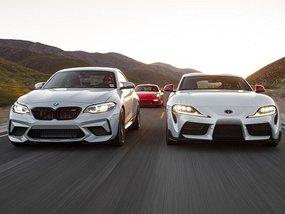 Top sports car models from popular brands for your choice